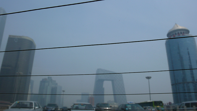 CCTV tower drive-by
