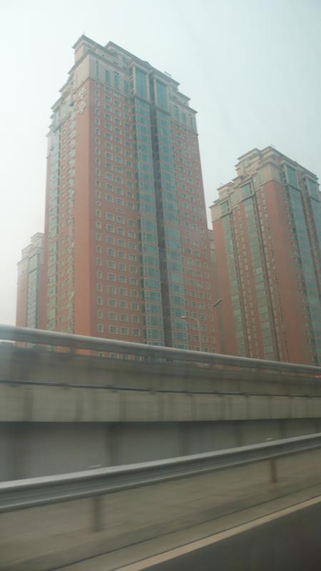 leaving Beijing early morning