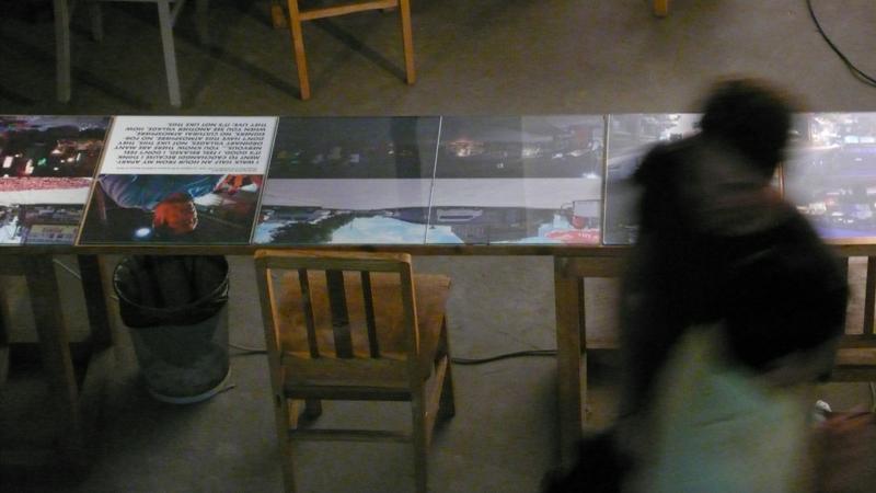 student work exhibit