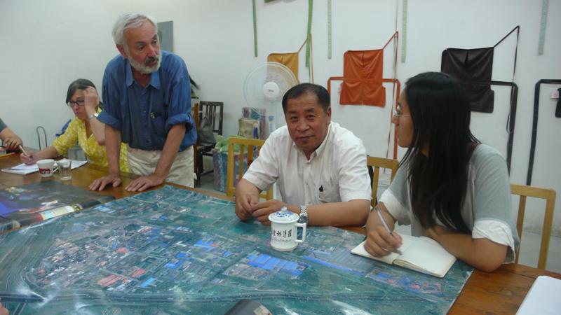 village leader Zhang GengQi at BASE