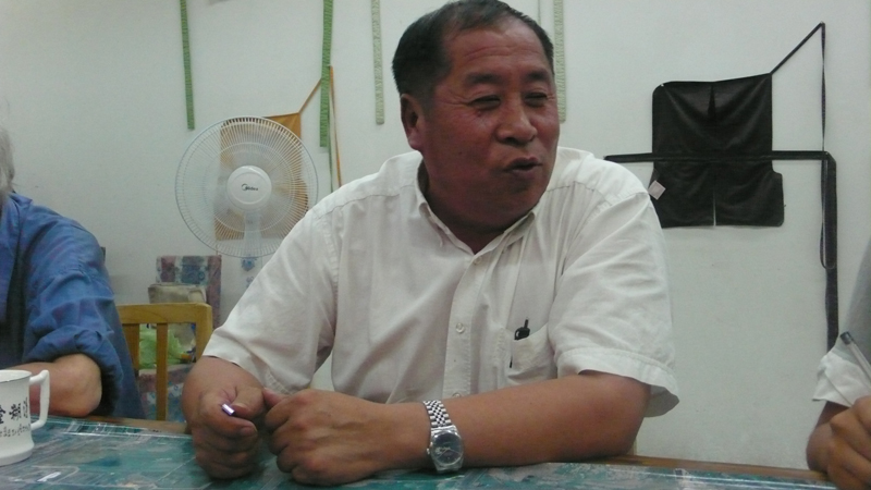 village leader Zhang Geng Qi