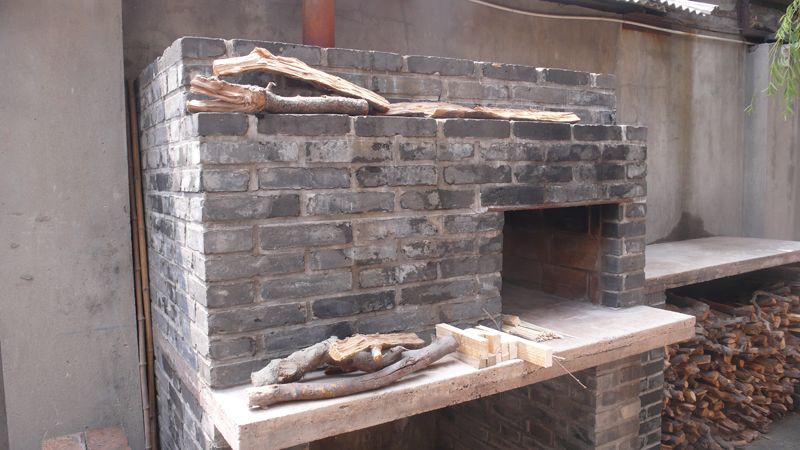 pizza oven at BASE