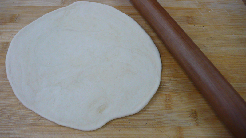 testing pizza dough recipe