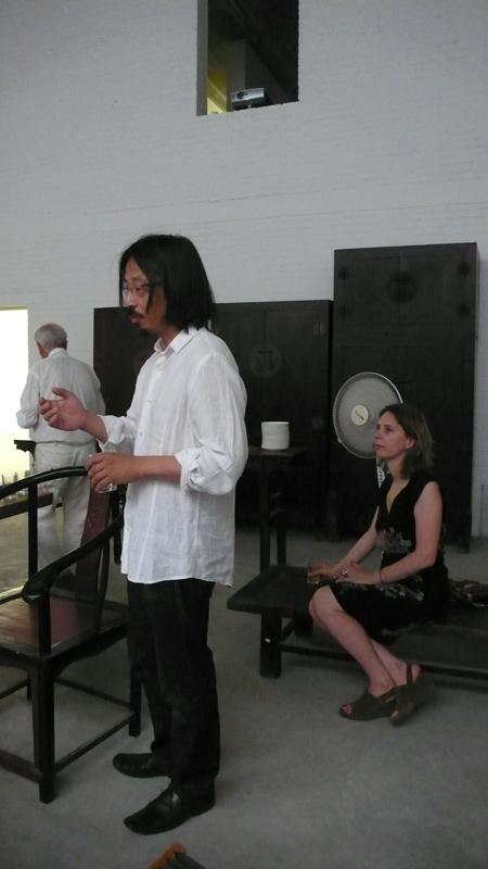 Huang Rui and Berenice Angremy