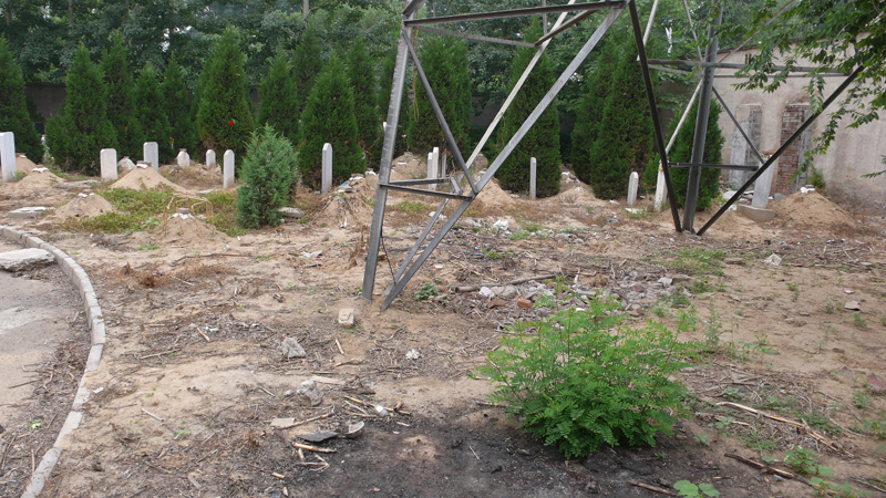 Caochangdi cemetery