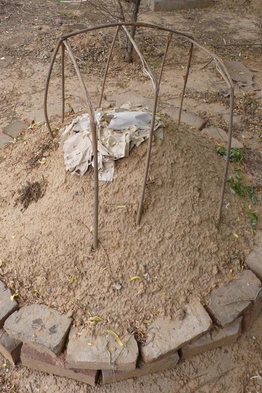 grave mount