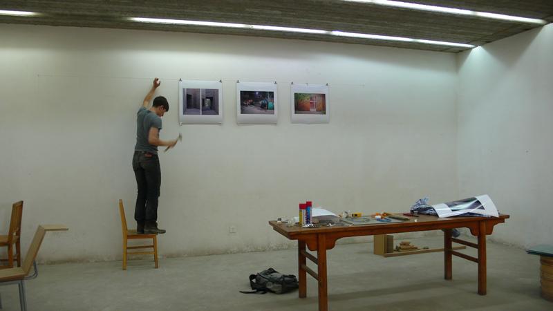 mounting of exhibit