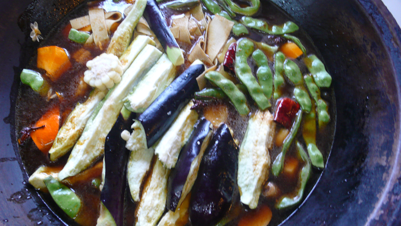 vegetarian pot