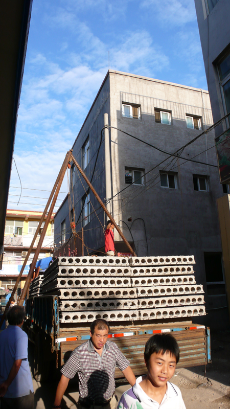 construction material delivery