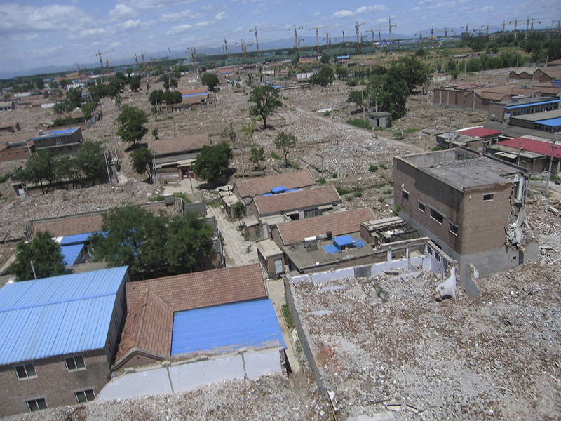 Urban Village Landscape (from kite)