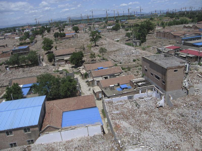 Urban Village Landscape (from kite)