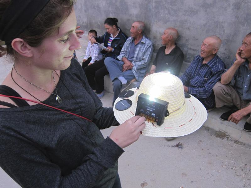 the solar hat