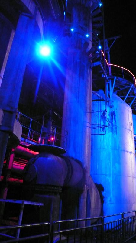 D-Park illuminated