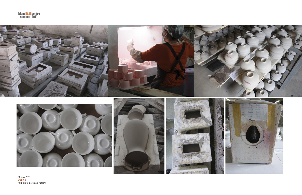 FIELD TRIP TO PORCELAIN  FACTORY